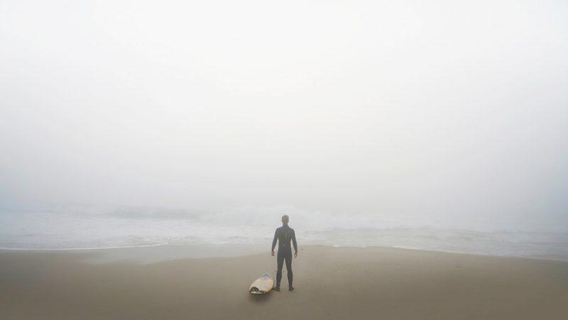 Was Surfen mich über meine Angst lehrte.